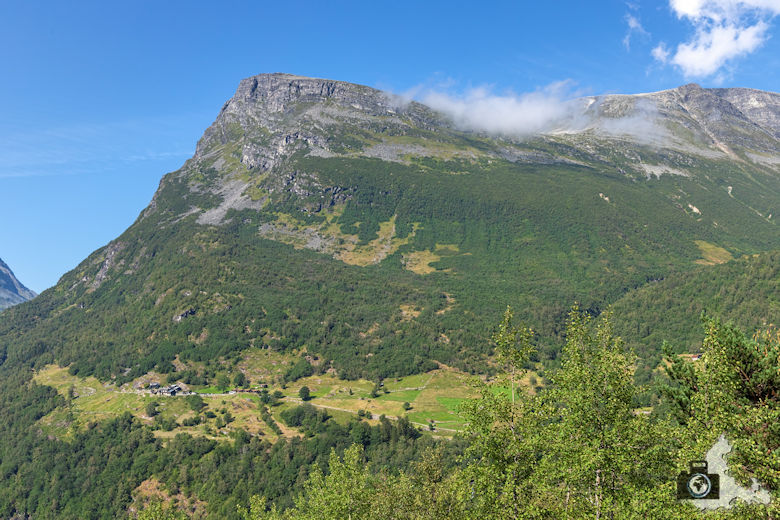 Wanderung am Geirangerfjord