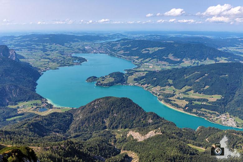 Schafberg, Salzkammergut, Österreich