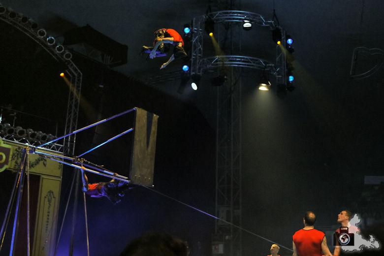 Weihnachtszirkus Circolo Freiburg 2019 - Gruppe Cheban