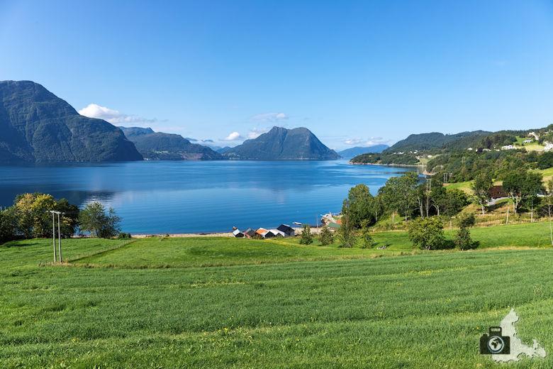 Fahrt nach Alesund in Norwegen