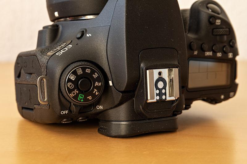 Canon EOS 90D - Programmwahlrad