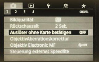 Tipps für optimale Einstellungen der Canon 6D Mark II