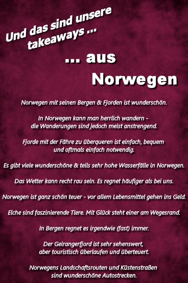 Takeaways Norwegen