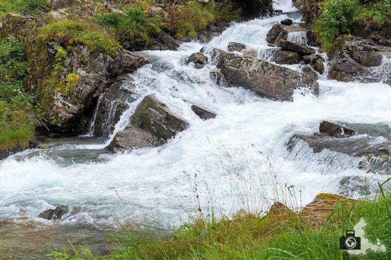 Wasserfall in Geiranger