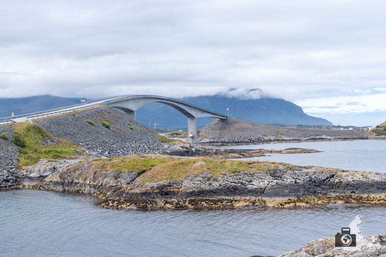 Atlantikstraße Norwegen - Brücke