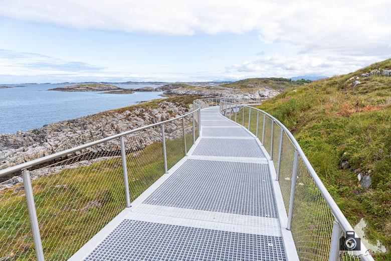 Atlantikstraße Norwegen - Wanderweg