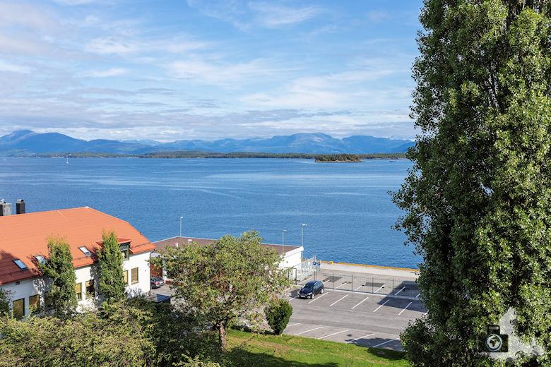 Ausblick auf den Fjord in Molde