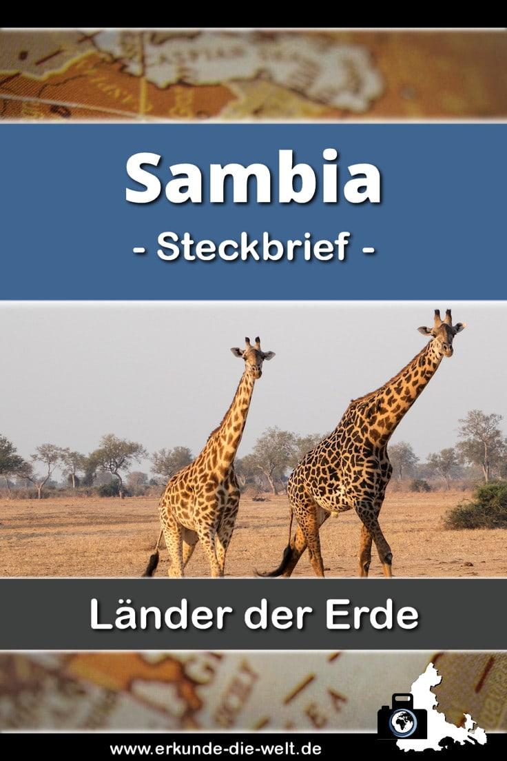 Steckbrief Sambia