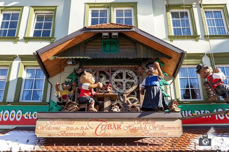 Triberg - Haus der 1000 Uhren