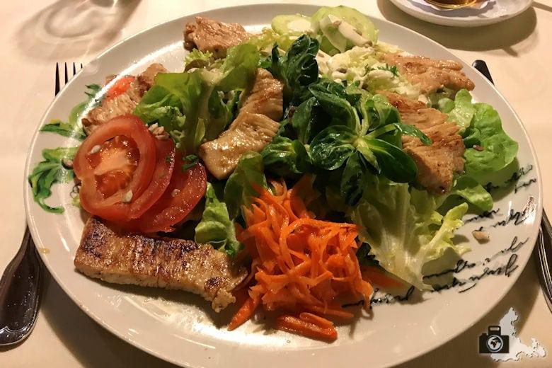 Restaurant Pfaff - Putenstreifensalat