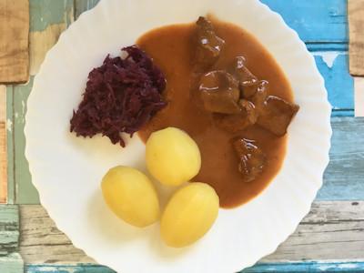 Rezept - Ungarisch - Feines Rindergulasch