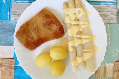 Schnitzel & Spargel zubereiten