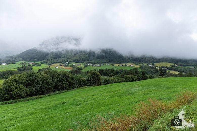 Norwegen im Regen
