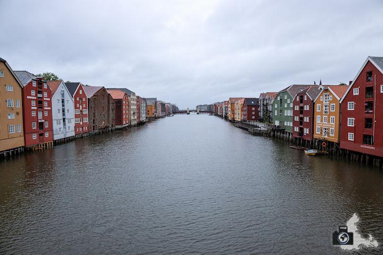 Trondheim - Fluss Nidelva