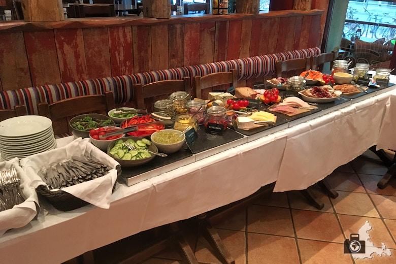 Frühstück im Thon Hotel Prinsen in Trondheim