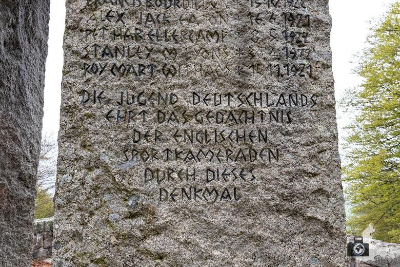 Berggeheimnis Schauinsland - Engländerdenkmal Hofsgrund