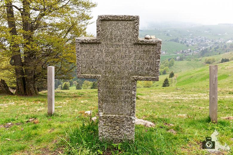 Berggeheimnis Schauinsland - Kleines Engländerdenkmal