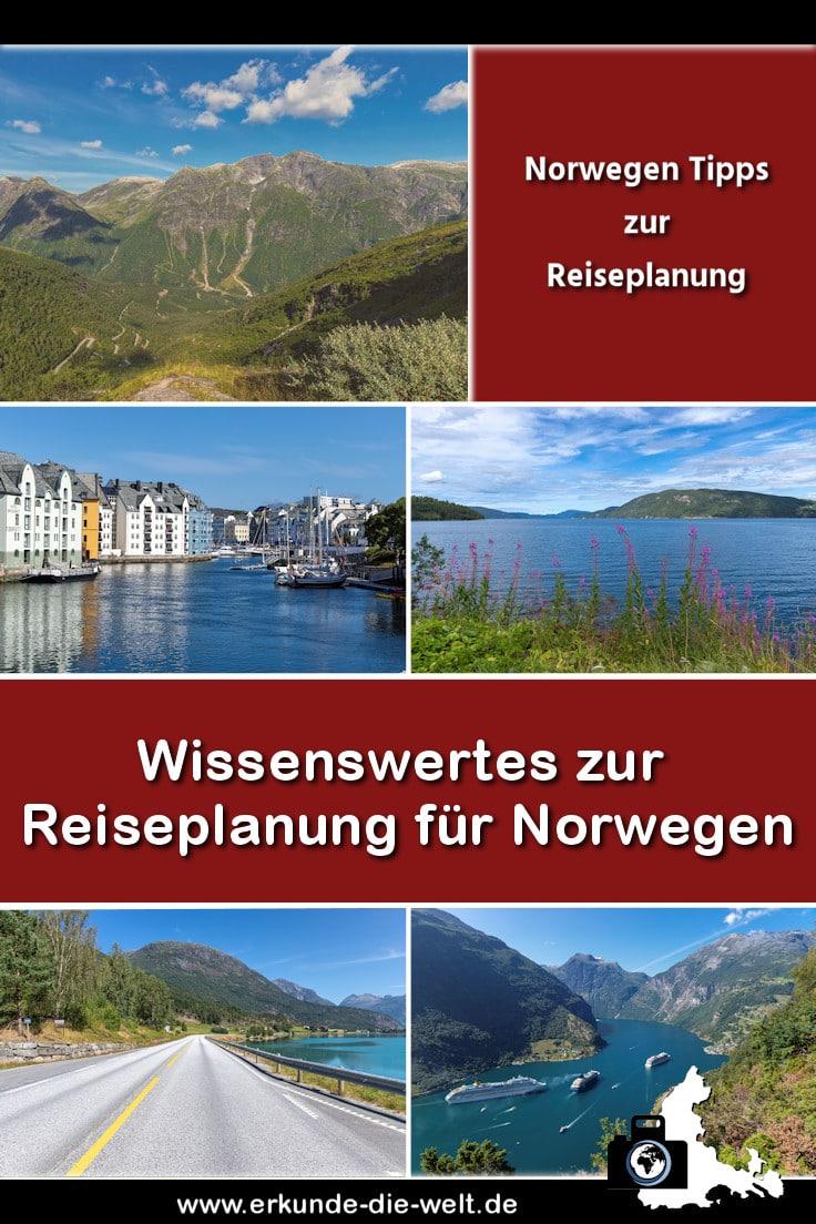 Norwegen Tipps zur Reisevorbereitung
