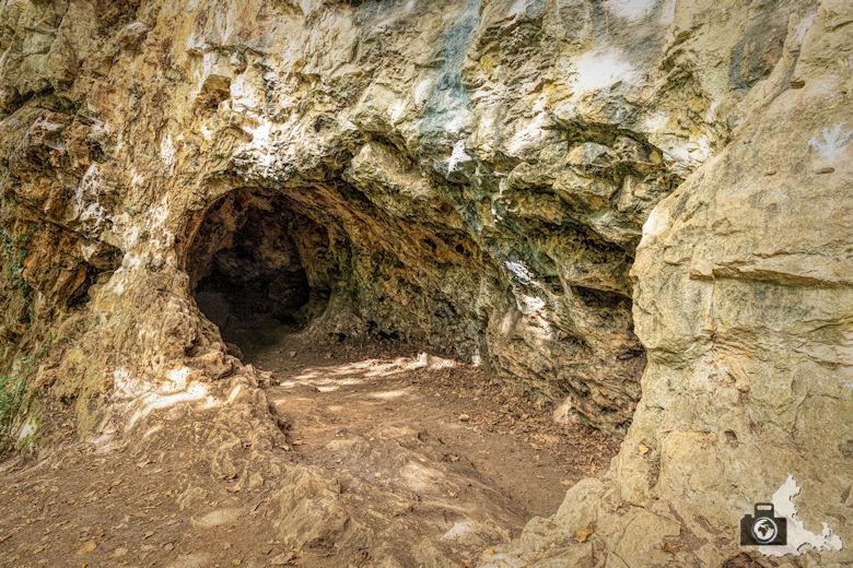 Wanderung Steinzeitpfad Ehrenkirchen - Teufelsküche Höhlen