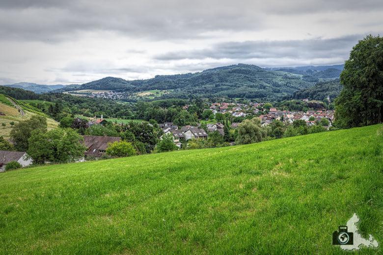 Wanderung Steinzeitpfad Ehrenkirchen - Schwarzwaldblick