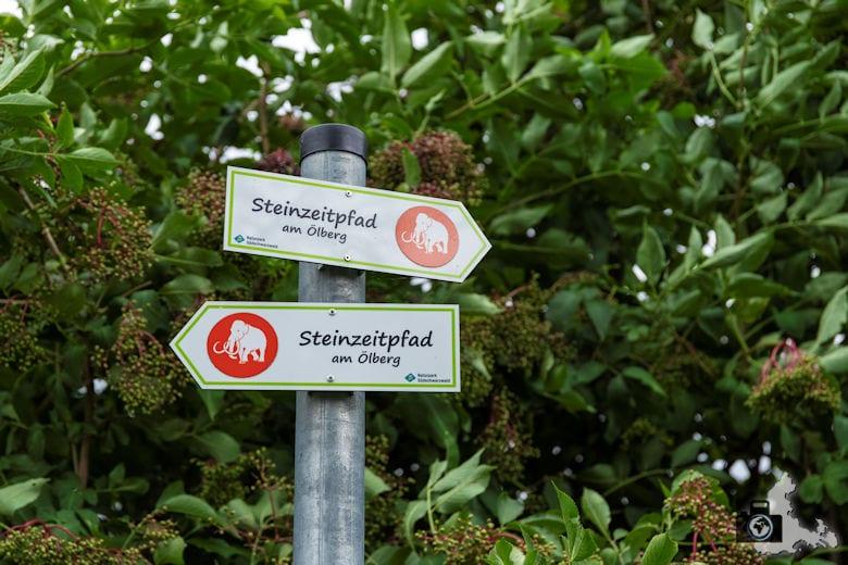 Wanderung Steinzeitpfad Ehrenkirchen - Wegweiser