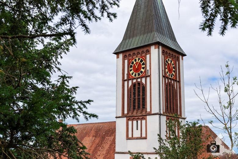 Wanderung Steinzeitpfad Ehrenkirchen - Kirche