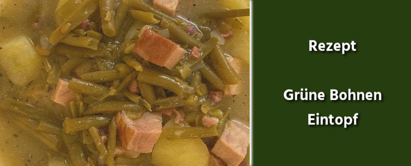 Rezept - Grüne Bohnen Eintopf