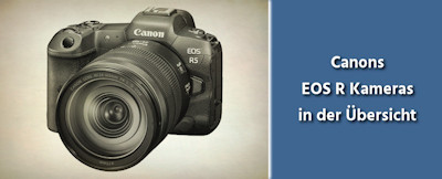 Canon EOS R Kameras in der Übersicht