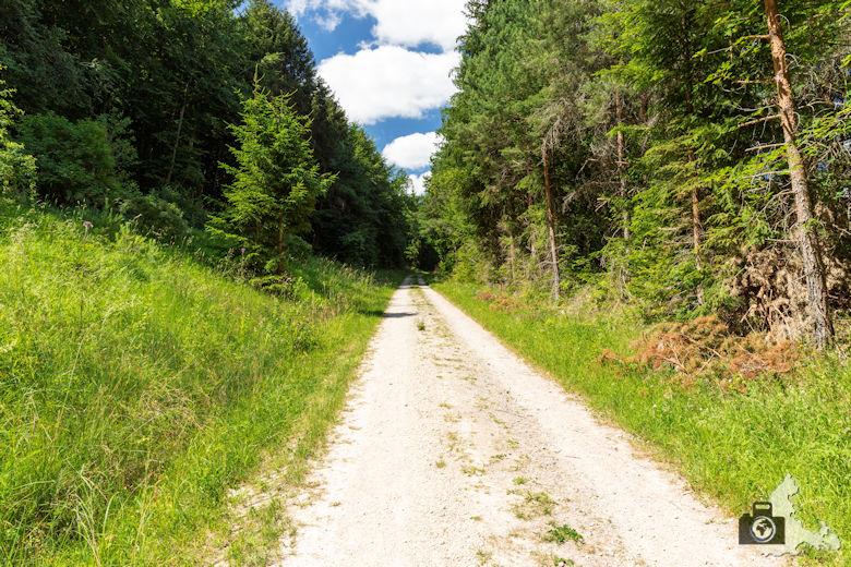 Wanderung Genießerpfad Himmelberg Runde - Wanderweg