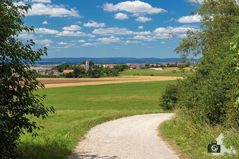 Wanderung Genießerpfad Himmelberg Runde - Feldweg