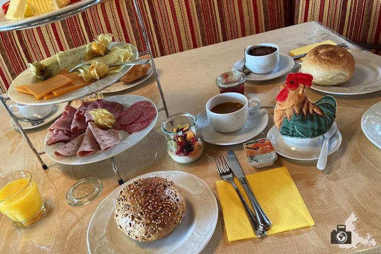 Frühstück im Landhotel Herzberger Garni