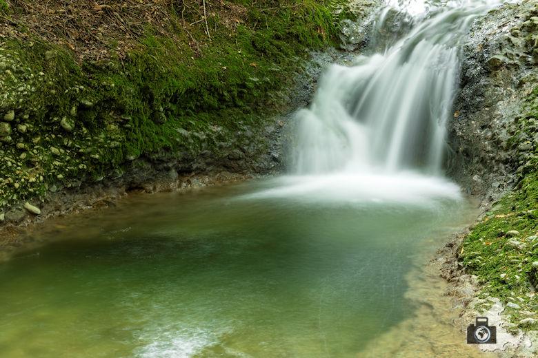 Scheidegg Wasserfälle - Langzeitaufnahme