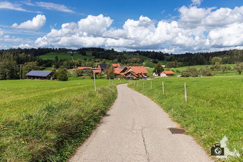 Wanderweg im Allgäu