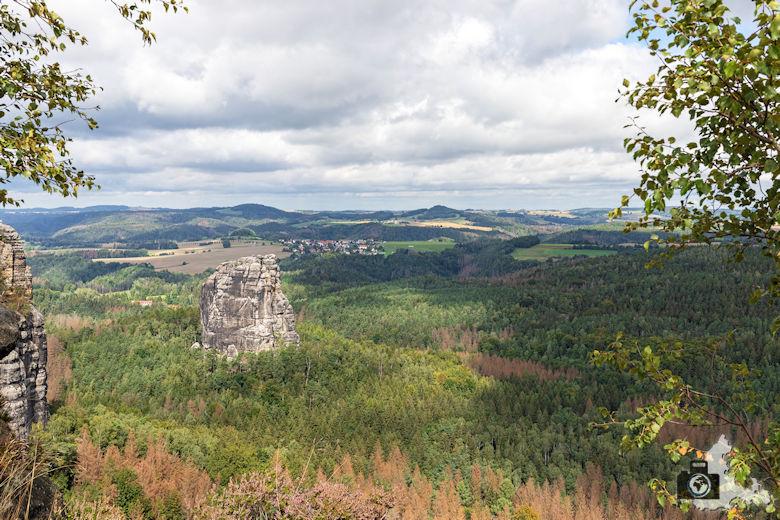 Elbsandsteingebirge - Schrammsteine