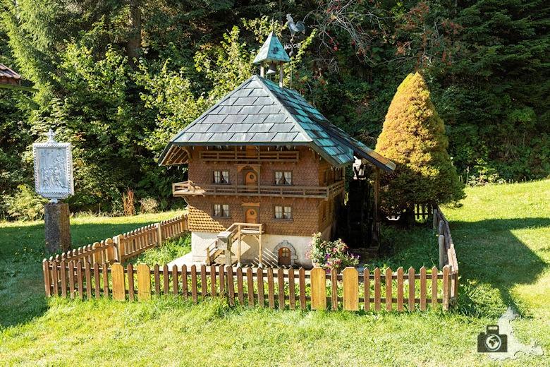 Schwarzwälder Genießerpfad - Lebküchlerweg - Miniaturmühle