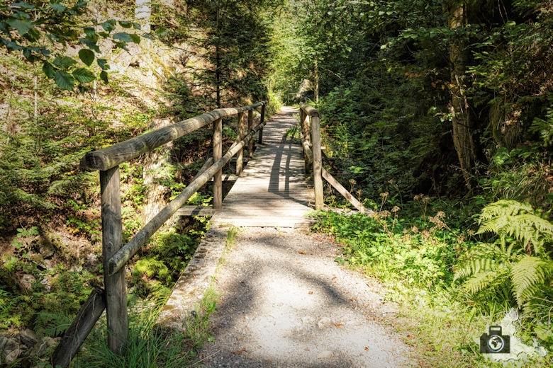 Schwarzwälder Genießerpfad - Lebküchlerweg - Brücke