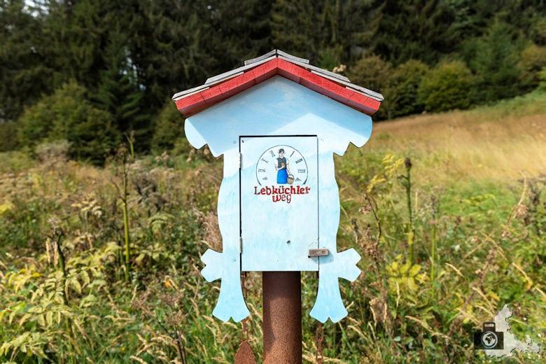 Schwarzwälder Genießerpfad - Lebküchlerweg - Stempeluhr