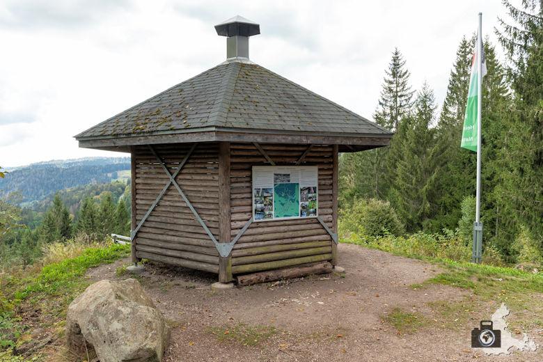 Schwarzwälder Genießerpfad - Lebküchlerweg - Hütte