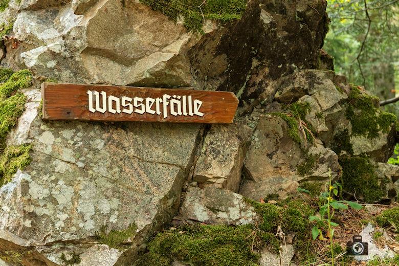 Schwarzwälder Genießerpfad - Lebküchlerweg - Wasserfall