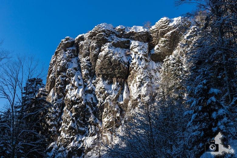 Fotowalk - Winterspaziergang im Münstertal - Berg