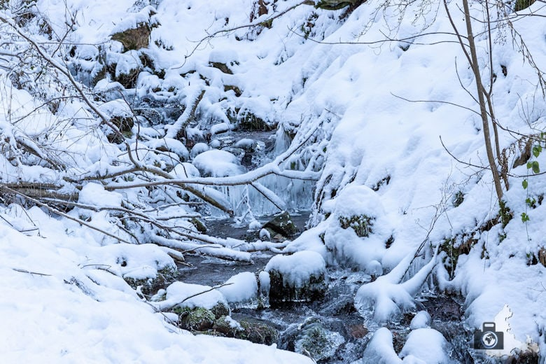 Fotowalk - Winterspaziergang im Münstertal - Bach