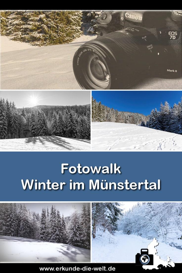 Fotowalk - Winterspaziergang im Münstertal