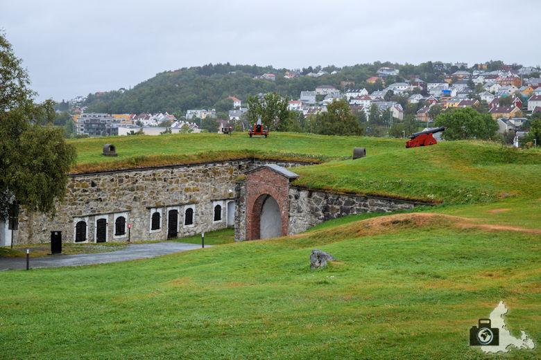 Trondheim Sehenswürdigkeiten - Festung Kristiansten