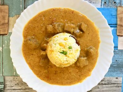 Rezept - Indische Küche - Rogan Josh - Indisches Lammcurry mit Gemüsereis