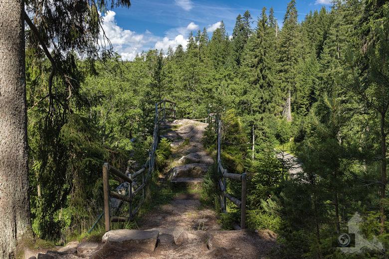 Schwarzwälder Genießerpfad - Waldpfad Groppertal - Uhustein
