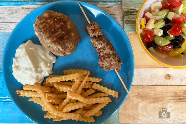 Griechisch kochen - Bifteki & Lammspieße